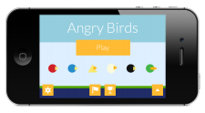 What if angry birds adopted flat design?